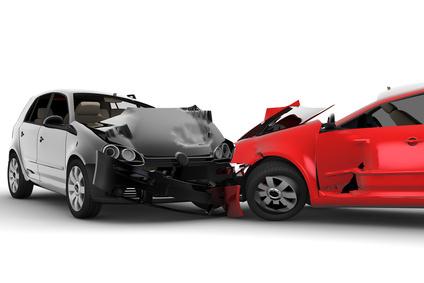 Damage car